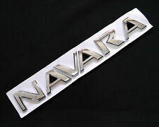 NAVARA LOGO EMBLEMS BADGE REAR BACK FIT FOR NISSAN NAVARA D40 05-13 D21 D22 D23