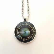 VINTAGE CAMERA EYE image lense Pendant Jewelry Necklace photographer