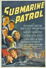 Submarine Patrol - 1938 - Richard Greene Nancy Kelly John Ford Vintage Film DVD