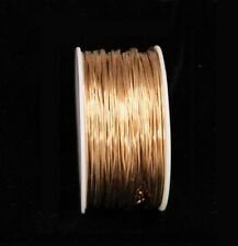 BRONZE  WIRE SOLID 16GA  5OZ  45FT.(SOFT) CRAFT & WIRE WRAPPING