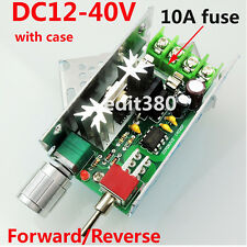 DC12-40V 3A PWM DC Motor Variable Speed Controller Reversible Drive Switch 120W