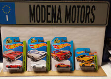 LOT OF 4 HOT WHEELS 1:64 CHEVY CAMAROS 2 OF '68 COPO; 1 2010 SS & 1 2013 SS