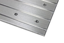 "Aluminium T-slot plate 400x200mm ""low profile""  for CNC milling machine, T-nuts"
