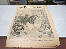 LE PETIT PARISIEN 244 1895 MARECHAL MARTINEZ CAMPOS
