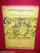 THE UNDERGROUND SET Tanto per cambiare 1970 Libretto di 11 Spartiti