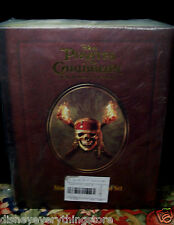 DISNEY PIRATES OF THE CARIBBEAN JACK SPARROW RARE STORYBOOK ORNAMENT SET HTF NEW