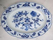 BLUE DANUBE Japan ovale Servierplatte  31 cm  oval chop  plate  →  Zwiebelmuster