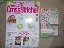 Britains No1 CrossStitcher Magazine Tinkerbell Edition +FREE Cross Stitch Sample