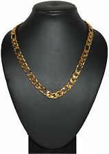 One Gram 24kt Gold Plated Neck Chain for men Daily Wear 18 Inch sku 3100
