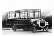 rp17696 - Caerphilly Council Tilling Stevens Motor Bus - photograph 6x4