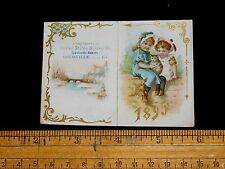 1895 United States Baking Co. Calendar #2 Louisville, KY Victorian Trade Card L9
