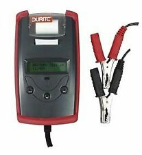 DURITE 0-524-72 DIGITAL BATTERY TESTER WITH START / CHARGE ANALYSER & PRINTER