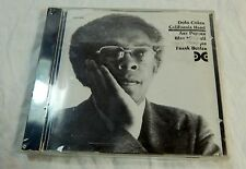 Dolo Coker California Hard Audio CD New Sealed