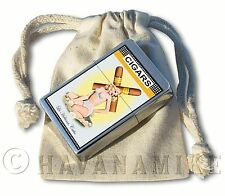 New in Bag COHIBA X PINUP GIRL Havana Cuba Ronson Cigar Lighter