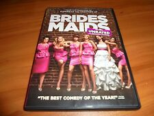 Bridesmaids (DVD, 2011, Unrated/Rated) Melissa McCarthy, Kristen Wiig Used