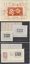 Tschechoslowakei 1963 **/FDC Bl.19 Weltraum Space Espace, diff. types on frame