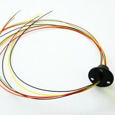 12.5mm 300Rpm 6 Wires CIRCUITS*2A Capsule Slip Ring 240V AC for Monitor Robotic