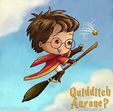 HARRY POTTER QUIDDITCH ANYONE? POP ART CHILD'S T-SHIRT SHIRT BOY GIRL   TENNIS