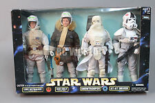 -RARE- Kenner STAR WARS Action Colllection 4 FIGURE SET Battle Of Hoth   #rk1