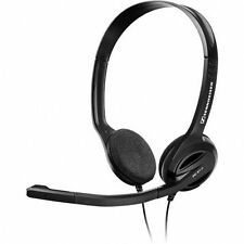 Sennheiser PC 31 II On-Ear Headsets Internet Calls Multimedia VOIP Flexible Boom