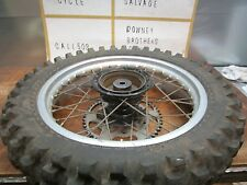 XR 250 HONDA ** 1985 XR 250R 1985 REAR WHEEL