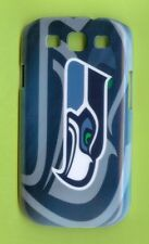 SEATTLE SEAHAWKS 1 Piece Glossy Case / Cover for Samsung GALAXY S3 (Design 3)