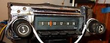 67 Impala Bel Air Biscayne Restored radio w/3.5 mm MP3 jack External Audio Great