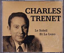 DOUBLE CD 40T DANS GROS BOITIER CHARLES TRENET LE SOLEIL ET LA LUNE BEST OF 2004