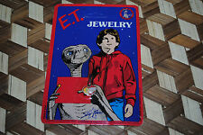 E.T. Extra Terrestrial Vintage Jewelry Pendant GERTIE Kiss Heart 1982 UNPUNCHED