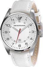 Emporio Armani White/Silver Quartz Analog Men's Watch AR5862