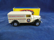 Code 2 Matchbox Yesteryear Y12 1937 GMC Van MSS Security Services Ltd Edition