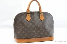 Authentic Louis Vuitton Monogram Alma Hand Bag M51130 LV 27670