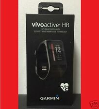 GARMIN VIVOACTIVE HR GPS SMARTWATCH with HEART RATE MONITOR