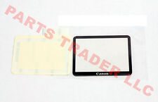 Canon 5D Mark II Plastic LCD Display Screen Window + Adhesive Tape Genuine New