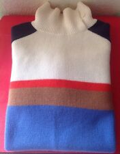 LORO PIANA WOMANS $1895 BABY CASHMERE TURTLENECK SWEATER SZ. 46 PRE-OWNED ����