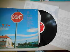 LP Pop EX- - Don't / Stop (12 Song) SHANGHAI REC / Presskit / + LyricSheet