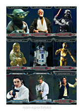STAR WARS CHROME PERSPECTIVES SET OF 100 CARDS