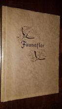 ALBUM FAUNAFLOR II CÔTE D'OR - 1954 - Manque 1 vignette