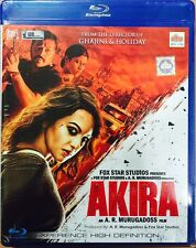 AKIRA BLURAY - SONAKSHI SINHA - 2016 HINDI MOVIE / SPECIAL EDITION / REGION FREE