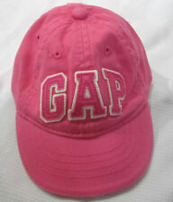 BABY GAP Girls Pink Logo Baseball Cap Sz 0-6m