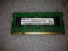Memoria SoDimm DDR2 Samsung M470T6554CZ3-CD5 512MB PC2-4200 533MHz CL4 200 Pin