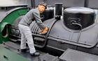 Prehm 500059 Lokschlosser mit Werkzeug - Metall-Figur für LGB Piko Pola Spur G