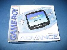 Nintendo Game Boy Advance GBA Glacier Handheld System New Sealed