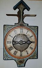 Gramans of Spain Wall Clock  Uses Stone Weights (Parts or Repair)