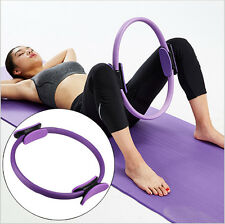 "14"" Magic Pilates Yoga Ring Exercise Circles Resistance Fitness Circles"