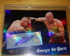 Georges st pierre UFC Chronicles buyback autograph RARE! 1/? Never seen another!