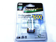 2x AAA battery batteries Bulk Nickel Hydride Rechargeable NI-MH 1600mAh 1.2V