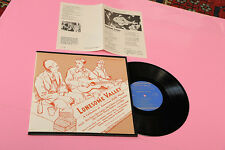 """LONESOME VALLEY LP 10"""" TOP JAZZ ORIG USA EX FOLKWAYS RECORDS '50 !!!!!!!!!"""