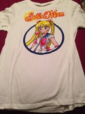 Sailor Moon New With Hang Tags White T Shirt xL