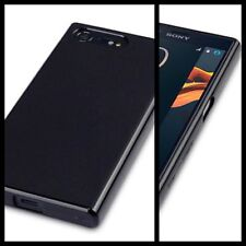 Original Sony Xperia X Compact Case Slim Flex Gel Shock Absorbing Tech Black